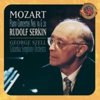 Piano Concerto.19, 20, Etc: R.serkin, Szell / Columbia.so