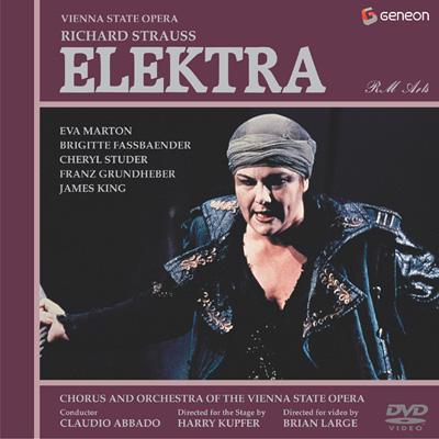 歌劇『エレクトラ』全曲 クプファー演出、アバド&ウィーン国立歌劇場、マルトン、ステューダー(日本語字幕付)