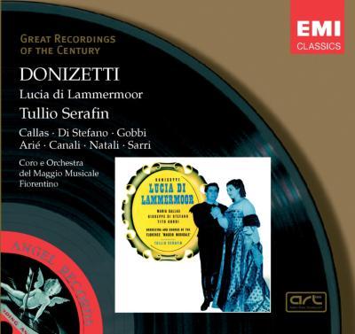 歌劇『ランメルモールのルチア』全曲 セラフィン&フィレンツェ五月祭管、カラス、ディ・ステーファノ、ゴッビ(2CD)