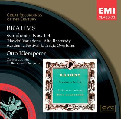 交響曲全集 クレンペラー指揮フィルハーモニア管弦楽団(3CD)