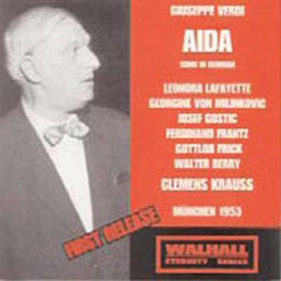 歌劇『アイーダ』全曲 クレメンス・クラウス 指揮 バイエルン放送交響楽団&合唱団(1953)