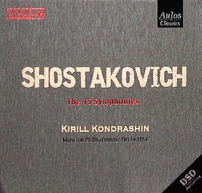 交響曲全集 コンドラシン&モスクワ・フィル(10CD)