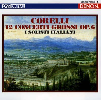 合奏協奏曲集作品6(全曲) イタリア合奏団(2CD)