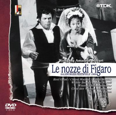 歌劇『フィガロの結婚』全曲 ベーム指揮ウィーン・フィル(1966)(日本語字幕付)