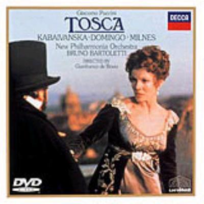 歌劇『トスカ』 ドミンゴ、カバイヴァンスカ、バルトレッティ指揮ニュー・フィルハーモニア管弦楽団、他(DVD)