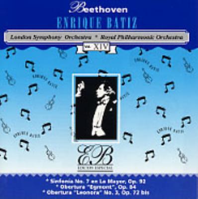 1交響曲第7番、2「エグモント」序曲、 3「レオノーレ」序曲第3番エンリケ・バティス指揮12ロンドン響3ロイヤル・フィル