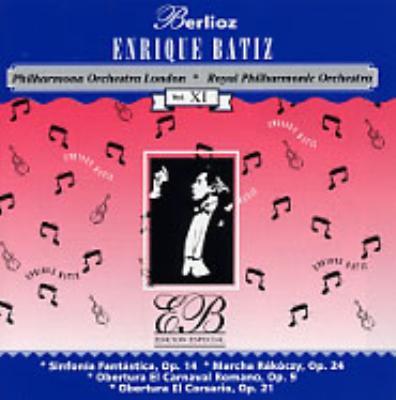 1幻想交響曲、2ハンガリー行進曲、 3序曲「ローマの謝肉祭」、4序曲「海賊」 バティス指揮