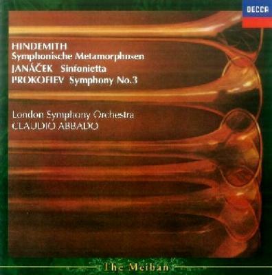 Sinfonietta: Abbado / Lso +hindemith, Prokofiev