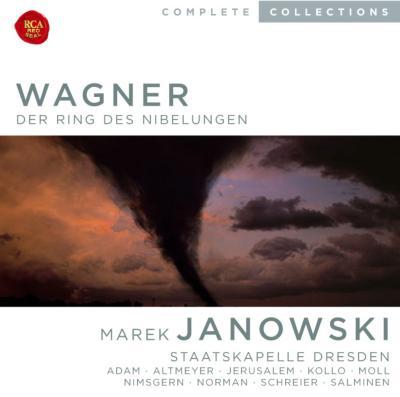 『ニーベルングの指環』全曲 ヤノフスキ&シュターツカペレ・ドレスデン、アダム、シュライアー、ミントン、他(1980、81、82、83 ステレオ)(14CD)