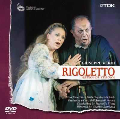 『リゴレット』全曲 ルボー演出、ヴィオッティ&アリーナ・ディ・ヴェローナ、ヌッチ、他(2001 ステレオ)(DVD)