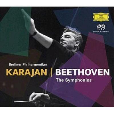 交響曲全集、第9リハーサル カラヤン&ベルリン・フィル(1960年代)(6SACD)