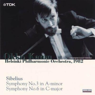 交響曲第3番、第6番 カム&ヘルシンキ・フィル(1982年ライヴ)