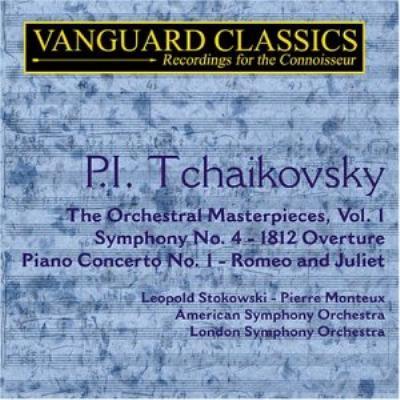 Sym.4: Stokowski / American.so, Piano Concerto.1: Ogdon, Monteux / Lso, Etc