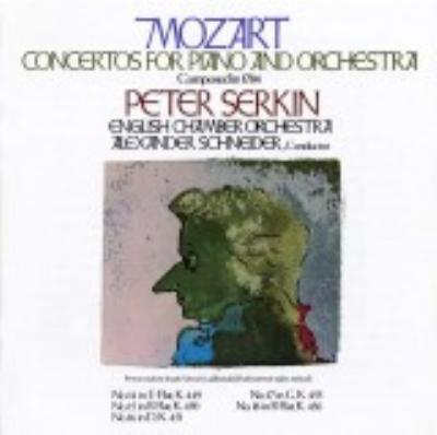 Piano Concerto.14-18: P.serkin, A.schneider / Eco