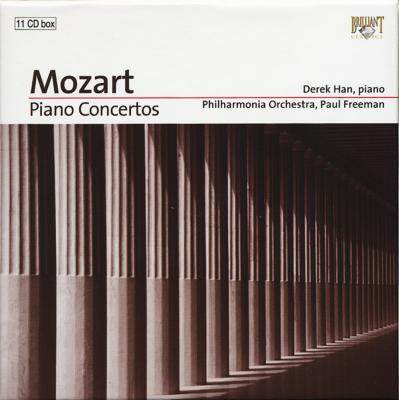 ピアノ協奏曲全集 ハン(p)フリーマン&フィルハーモニア管、ベルダー(cemb)、コチシュ、ラーンキ、シフ、シュミット(p)(11CD)