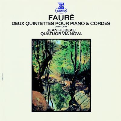 ピアノ五重奏曲第1&2番 ユボー、ヴィア・ノヴァ四重奏団