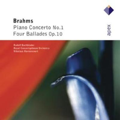 ピアノ協奏曲第1番、バラード ブッフビンダー、アーノンクール&コンセルトヘボウ管