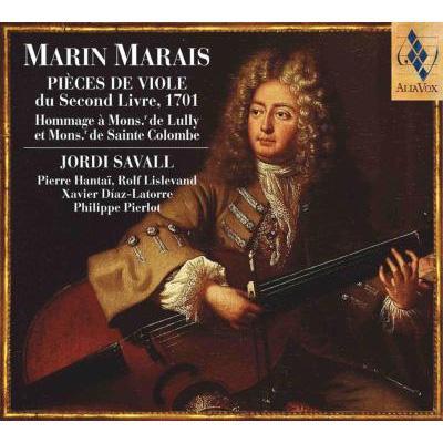 Pieces De Viole 2.livre: Savall, P.hantai, Lislevand, Diaz-latorre, Pierlot