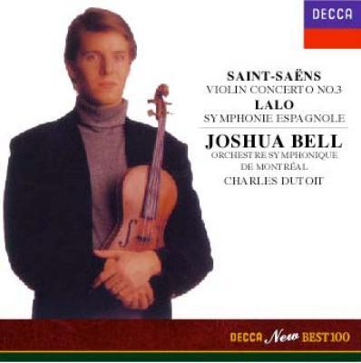 サン=サーンス:ヴァイオリン協奏曲第3番/ラロ:スペイン交響曲 ベル/デュトワ
