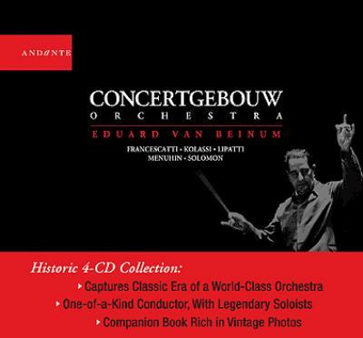 ベイヌム&コンセルトヘボウ管弦楽団の芸術(4CD)