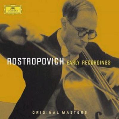 ロストロポーヴィチ/初期録音集(2CD)