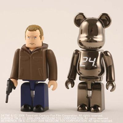 Jack Bauer & 24 Be@rbrick Set