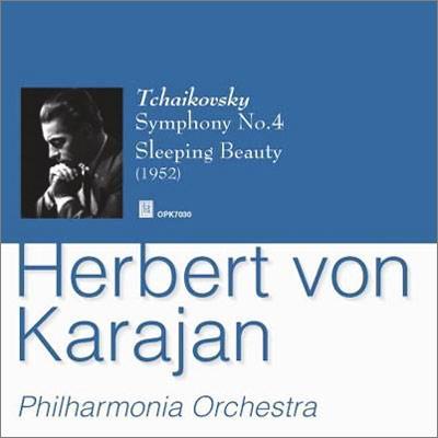 交響曲第4番、『眠りの森の美女』より カラヤン&フィルハーモニア管弦楽団