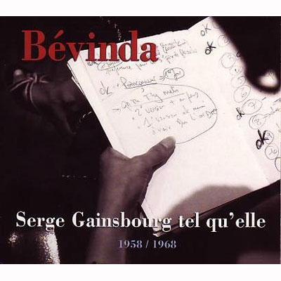 Serge Gainsbourg Tel Qu'elle 1958-1968
