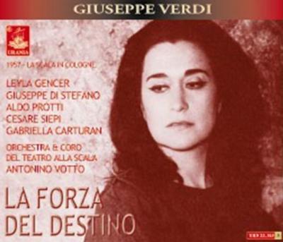 歌劇『運命の力』全曲 ヴォットー&スカラ座、ジェンチェル、ディ・ステーファノ(3CD)