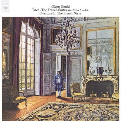 フランス組曲第5番、第6番、フランス風序曲 グールド(p)