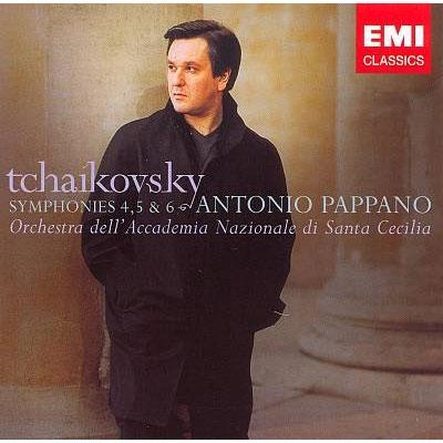 交響曲第4, 5, 6番 パッパーノ&サンタ・チェチーリア国立音楽院管弦楽団(2CD)