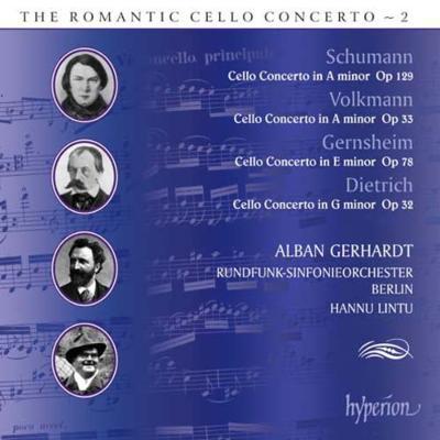 チェロ協奏曲、他 ゲルハルト(vc)リントゥ&ベルリン放送交響楽団