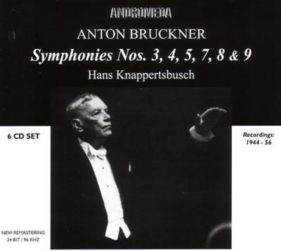 交響曲選集 クナッパーツブッシュ&BPO、VPO、他(6CD)