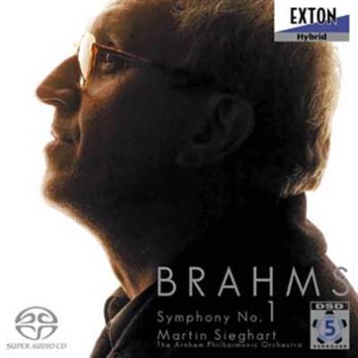ブラームス:交響曲第1番 マルティン・ジークハルト& アーネム・フィル