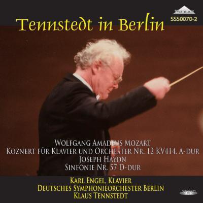 モーツァルト:ピアノ協奏曲第12番、ハイドン:交響曲第57番 エンゲル、テンシュテット&ベルリン・ドイツ響