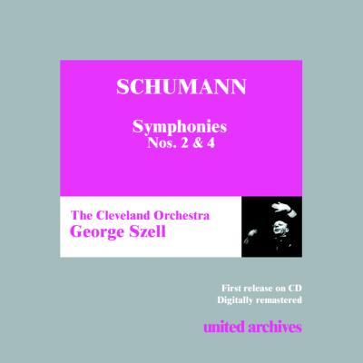 交響曲第2番、第4番 セル&クリーヴランド管(旧録音)
