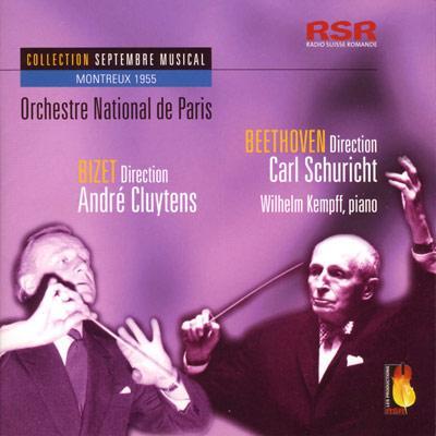 ピアノ協奏曲第1番、『エグモント』序曲、他 ケンプ(p)シューリヒト&フランス国立放送管、他