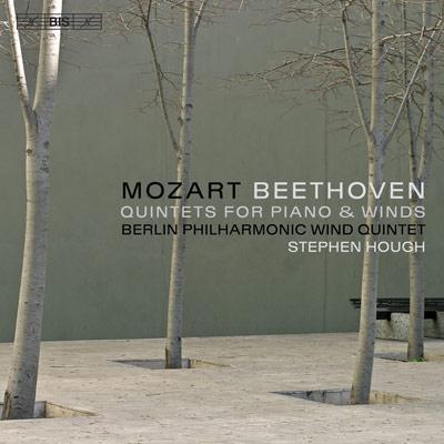 モーツァルト:ピアノと木管のための五重奏曲、ベートーヴェン:ピアノと木管のための五重奏曲 ハフ(p)ベルリン・フィル木管五重奏団