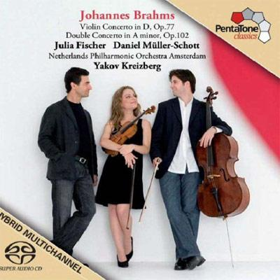 ヴァイオリン協奏曲、二重協奏曲 J.フィッシャー(vn)ミュラー=ショット(vc)クライツベルク&オランダ・フィル