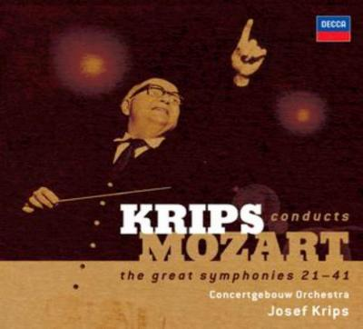 交響曲第21番〜41番 クリップス&コンセルトヘボウ(6CD)