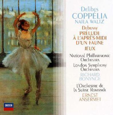 ドリーヴ:バレエ《コッペリア》全曲、他 ボニング指揮/ナショナル・フィルハーモニー管弦楽団