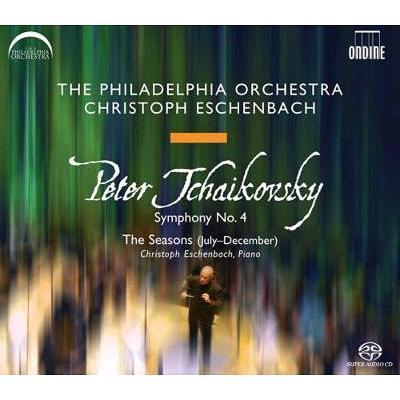 交響曲第4番、他 エッシェンバッハ&フィラデルフィア管弦楽団