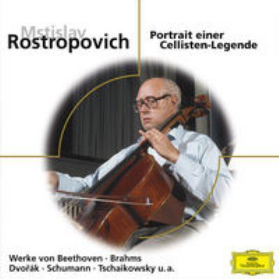 Rostropovich Portrait Einer Cellisten Legende