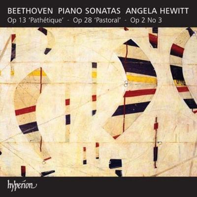 ピアノ・ソナタ第8番『悲愴』、第15番『田園』、第3番 ヒューイット