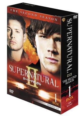 SUPERNATURAL II スーパーナチュラル セカンド・シーズン コレクターズ・ボックス1