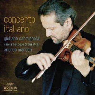 イタリア・バロック協奏曲集 カルミニョーラ、マルコン&ヴェニス・バロック・オーケストラ
