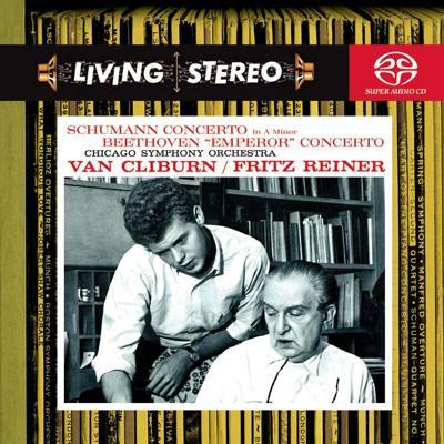 ベートーヴェン:ピアノ協奏曲第5番『皇帝』、シューマン:ピアノ協奏曲 クライバーン(p)ライナー&シカゴ響
