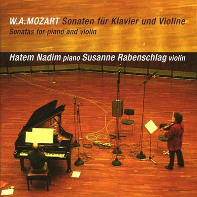 ヴァイオリン・ソナタ集 ラーベンシュラーク(ヴァイオリン)ナディム(ピアノ)(5CD)