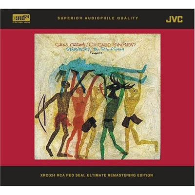 『春の祭典』、『花火』 小澤征爾&シカゴ交響楽団(XRCD)