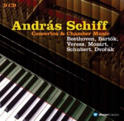 アンドラーシュ・シフ/協奏曲、室内楽録音集 ハイティンク&SKD、ペレーニ(vc)、他(9CD)